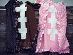 Football Minky Blankets-- Perfect for Olivia to watch her big brother play foot ball!! Cuddle right up!!