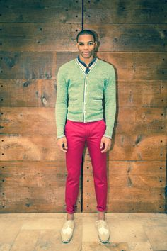 Russell Westbrook in Levi's  Russell I Love you...But NO honey,it's too much lol