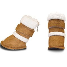 Dog boots to keep your dog's feet warm in the winter time! @Erin Nichols for DODO!