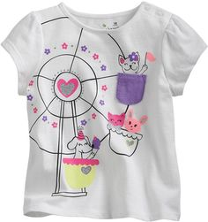 Jumping beans ® critter carousel pocket tee - baby on shopstyle.com