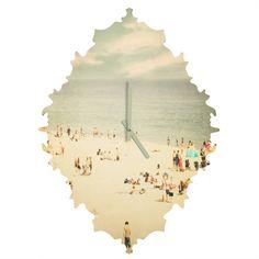 Shannon Clark Vintage Beach Baroque Clock | DENY Designs Home Accessories