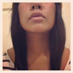 Seamless septum ring