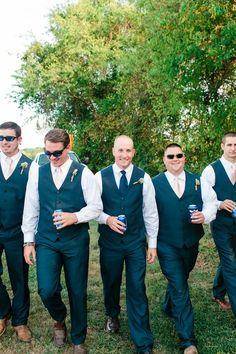 Diy Style Farm Wedding Rustic Groom Venues Groomsmen