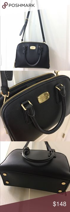 Michael Kors Cross-body Bag In excellent condition! Great for work/daily wear. Goes well with any outfit. Highly recommended😍 Michael Kors Bags Crossbody Bags