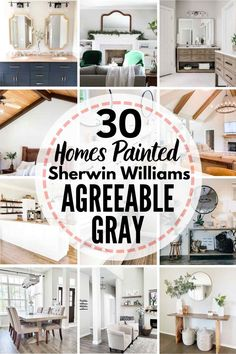 Best Neutral Paint Colors, Greige Paint Colors, Popular Paint Colors, Distressed Furniture, White Furniture, Sherwin Williams White, Agreeable Grey Sherwin Williams, Sherwin Williams Perfect Greige, Repose Gray