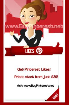 Just found this website for those interested in getting more Pinterest Likes!