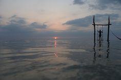 Magnificent sunset at Gili Trawangan. photo: Dennis Faro
