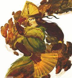 Avatar Airbender, Avatar Aang, Team Avatar, Kyoshi Warrior, Mädchen Tattoo, Avatar Series, Korrasami, Legend Of Korra, Illustration