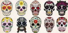 Choose One Sugar Skull To See What It Reveals About Your Personality – Mystical Raven Kinds Of People, We The People, Crane, Cool Symbols, Test Image, Smartphone Hacks, Make An Effort, Animal Totems, Genre
