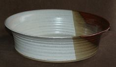 Large Pottery Bowl Beautiful large pottery bowl hand thrown and crafted by Susan Boland in County Kilkenny.