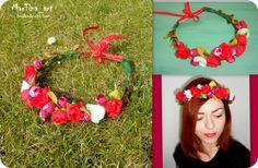 New spring flower crown..  MarTina_art