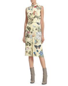 Gucci Flora Knight Light Matte Cady Dress