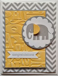 """Here are a couple more cards I made this summer and I don't think I ever shared with you. This set is soooooooo stinkin' cute! It's called ZOO BABIES and you will find on page 54.  Great for """"baby"""" cards, but can use for any """"kids"""" cards! Here is one for a girl, and …"""
