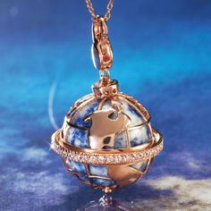 Galileo Earth Pendant 26367 | Stauer.com