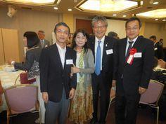 新居浜西高関東樟樹会に、初めて参加させていただきました。 新居浜からは、畑田会長と藤田校長(私の同級生)も参加されてます。貴和子先生に教わった同級生3人と先生とで、、、。(赤いリボンは、藤田校長です)