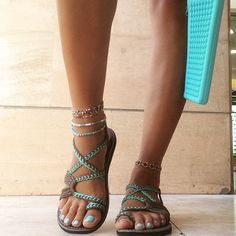 The perfect sandal! Handwoven and ON SALE (click here)