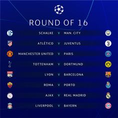 Manchester United will face Paris Saint-Germain in the Champions League round of while Liverpool have been drawn against Bayern Munic. Manchester City, Real Madrid Manchester United, Cristiano Jr, Cristiano Ronaldo Junior, Liverpool, As Roma, Lionel Messi, Champions League Draw, Signal Iduna