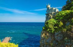 Swallow's Nest, Crimea, Ukraine  I need to find a better image... this is a beautiful place