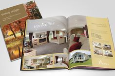 Three decades of public relations, brochure design, communications campaigns, website creation, exhibition support and product design for Victory Leisure Homes by Sowden & Sowden