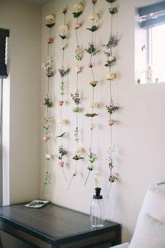 Wohnheim Raumdekor Diy DIY Flower Wall / / Gemma Darr The Root of Attachment Challenges…Trauma, Trau Bedroom Plants, Bedroom Wall, Teen Bedroom, Modern Bedroom, Dorm Room Walls, Diy Room Decor, Bedroom Decor, Home Decor, Flower Room Decor
