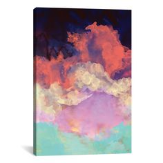 Great art deserves to be on canvas! Giclée canvas artwork offers the texture, look and feel of fine-art paintings. This artwork is crafted in the USA with artist-grade canvas, professionally hand-stretched and stapled over North American pine-wood bars in Gallery Wrap style