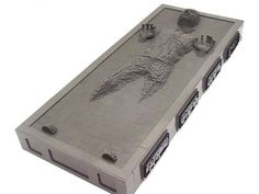 """Pin for Later: When Star Wars and Legos Become Fine Art """"Han Solo Frozen in Carbonite,"""" Nathan Sawaya Source: Nathan Sawaya via The Art of the Geek"""