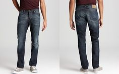 John Varvatos Star USA Bowery Jeans in Ventura Wash