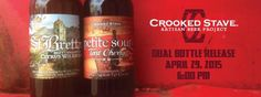 Crooked Stave Petite Sour Tart Cherry & St. Bretta Late Spring Release Apr. 29