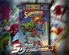 SUPERMAN MAN OF STEEL # 36. Parte de World's Collide. DeJ. Bogdanove. $ 60.00 Para más información, contáctanos en http://www.facebook.com/la5aDimension