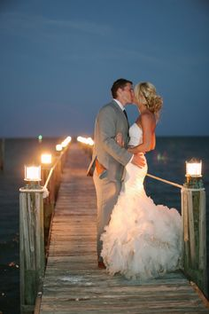 Photography: Bob Care Photography - www.careweddings.com Read More: http://www.stylemepretty.com/2014/09/08/elegant-florida-keys-wedding-at-the-caribbean-resort/