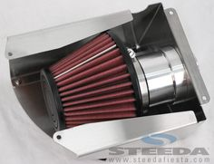 Steeda 2011-13 Ford Fiesta Cold Air Intake - Made in the USA - Free Shipping!