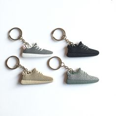 For Sale: All 4 Yeezy Boost 350 Keychain for $20