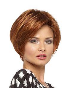 En modern yuvarlak yüz tipine göre saç modelleri