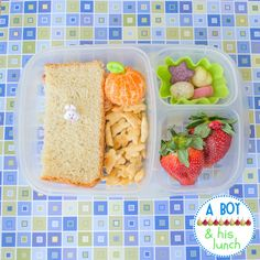 A Boy & His Lunch: Bunny Rabbit Bento