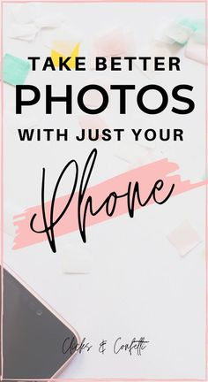 Learn how to take good photos with just your phone, using composition skills and lighting. No need to carry around a DSLR. Take Better Photos, How To Take Photos, Photo Instagram, Instagram Tips, Make Money Blogging, How To Make Money, Taking Good Selfies, Vsco App, Iphone Photography