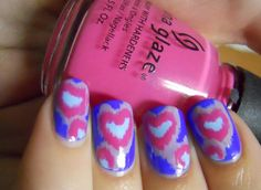 Holy Manicures Heart Design