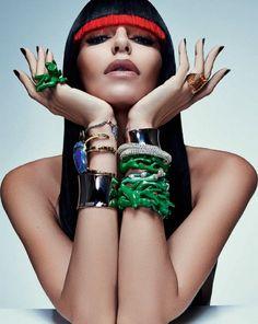 http://sandroka-eamigasnamoda.blogspot.com.br/: Lea T por Zee Nunes para Vogue Brasil abril 2014