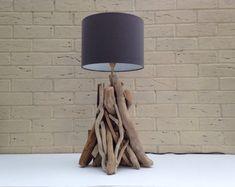 Lámpara de madera entrelazadas a mano por AllOutWoodInteriors