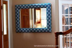 mirror makeover {how-to}
