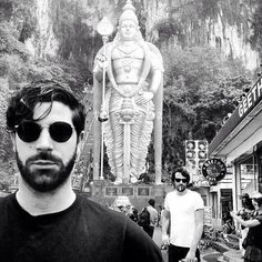 Foals visiting Heaven's Gate, China Heaven's Gate, Music Bands, Artwork, People, China, Hot, Instagram, Sash, Work Of Art