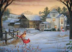 Countryside Cardinals   PuzzleWarehouse.com