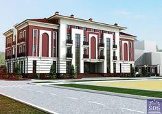 Гостиничный комплекс в Ташкенте. Архитектурное бюро SDS PROEKT.
