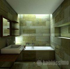 Reforma de baños modernos y de diseño.