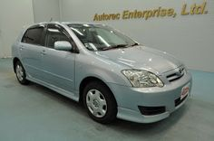 Japanese vehicles to the world: 2004 Toyota Corolla Runx X-limited for Zambia