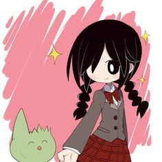 Mogeko Castle Fanart Defect Mogeko and Yonaka