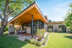Home Building Design, Building A House, Sidewalk, Deck, Outdoor Decor, Home Decor, Decoration Home, Front Porches, Walkways
