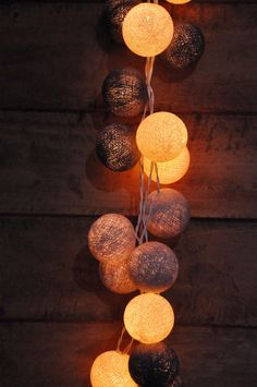 Retro Grey Cotton ball string lights for PatioWeddingParty   Etsy Patio Lighting, Unique Lighting, Lit Wallpaper, Wallpaper Backgrounds, Twinkle Lights, String Lights, Iphone Wallpaper Photography, Patio Wedding, Cotton Ball Lights