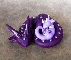 Mama Dragon with Baby