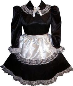 Custom Fit 2pc French Maid Adult Baby Sissy Dress & Apron LEANNE | Clothing, Shoes & Accessories, Costumes, Reenactment, Theater, Costumes | eBay!