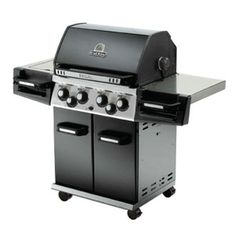 Cheap Broil King 976164 Regal 440 Liquid Propane Gas Grill with Side Burner, Stainless Steel/Black Holland Grill, Weber Bbq, Weber Grills, Grill Sale, Charcoal Smoker, Grilled Lobster, Propane Gas Grill, Cast Iron Cooking, Good And Cheap